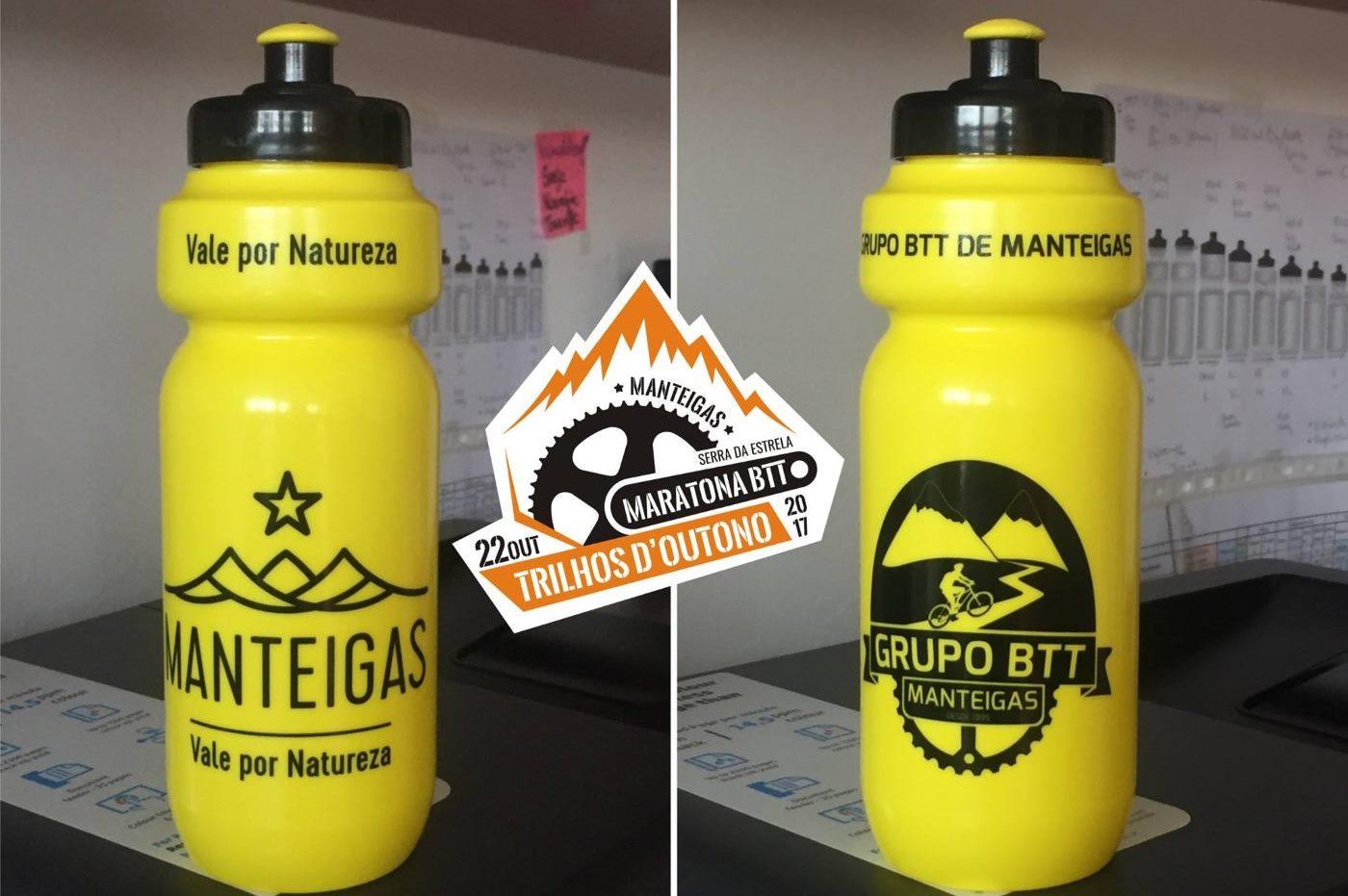 O bidon personalizado da Maratona BTT de Manteigas